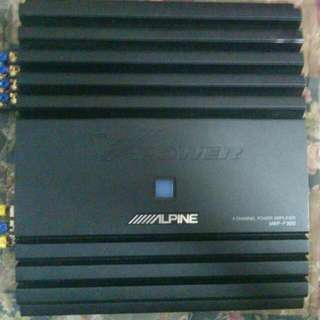 Alpine MRP F300 4 Channel Amp