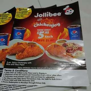 Jollibee Offer
