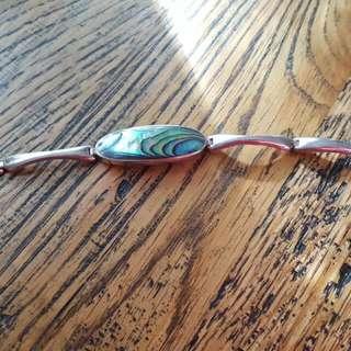 NZ Paua Shell Bracelet