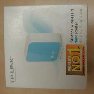 TP-Link Wireless N nano router