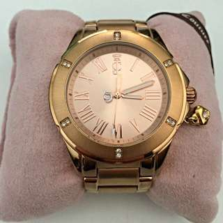 Juicy Couture Rich Girl Watch Rose Gold