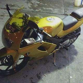 Gold Honda 150cc SP (Reserved)