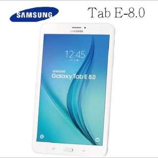 Samsung Galaxy Tab E 8.0全新 可議價