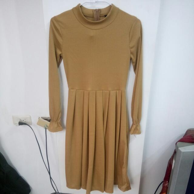 韓版洋裝$250