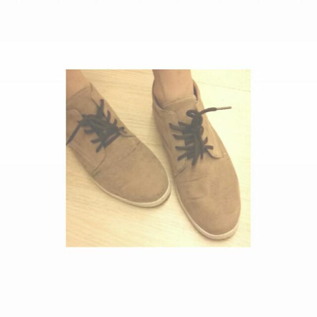 復古綁帶平底鞋
