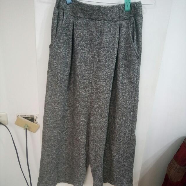 棉 寬褲$200