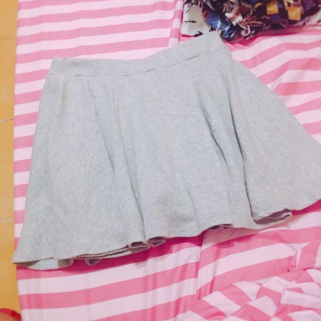 灰色 運動俏皮褲裙