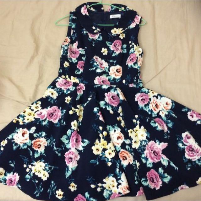 春夏🌸 Pazzo 超美 花朵 洋裝👗