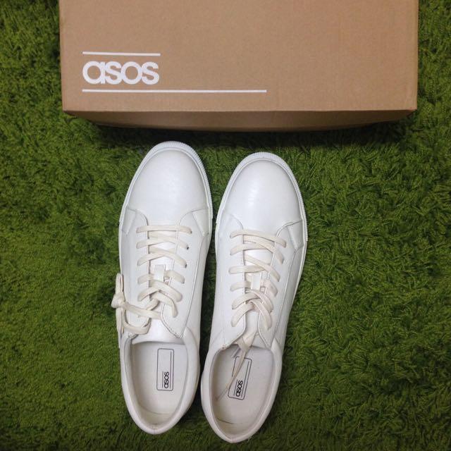 Asos全新經典白鞋 男鞋