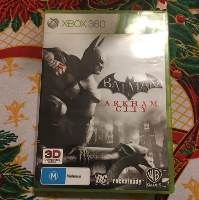 Batman Arkham City 3D