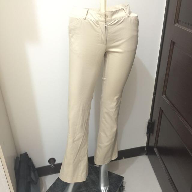 CHARCOAL 專櫃米色褲(含郵)