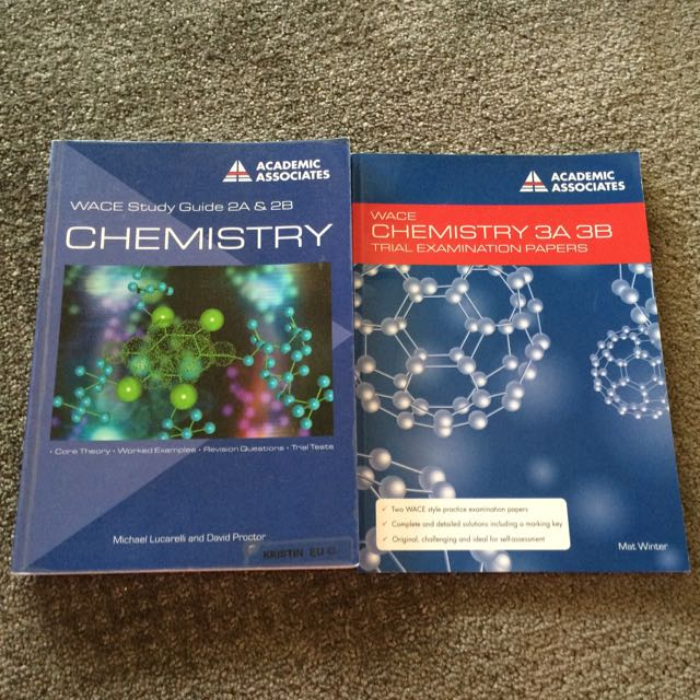 Chemistry Study Guide And Exam Papers