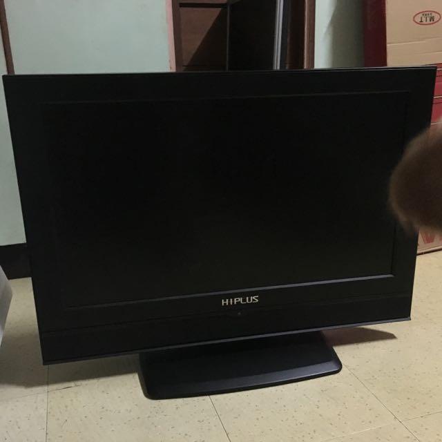 """HIPLUS 32""""彩色液晶顯示器 液晶電視(需修理)"""