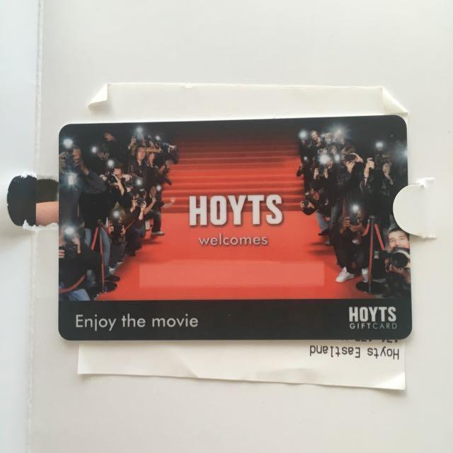 Hoyts $60 Gift Card