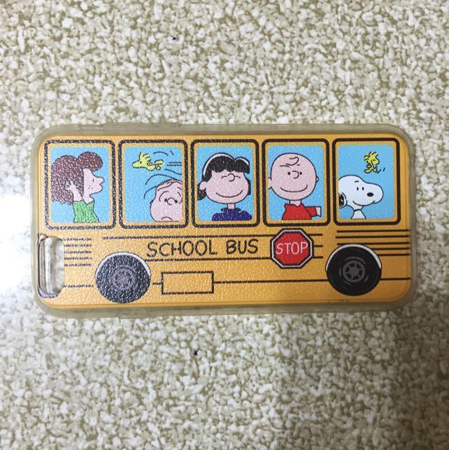 I Phone6 史努比公車軟殼
