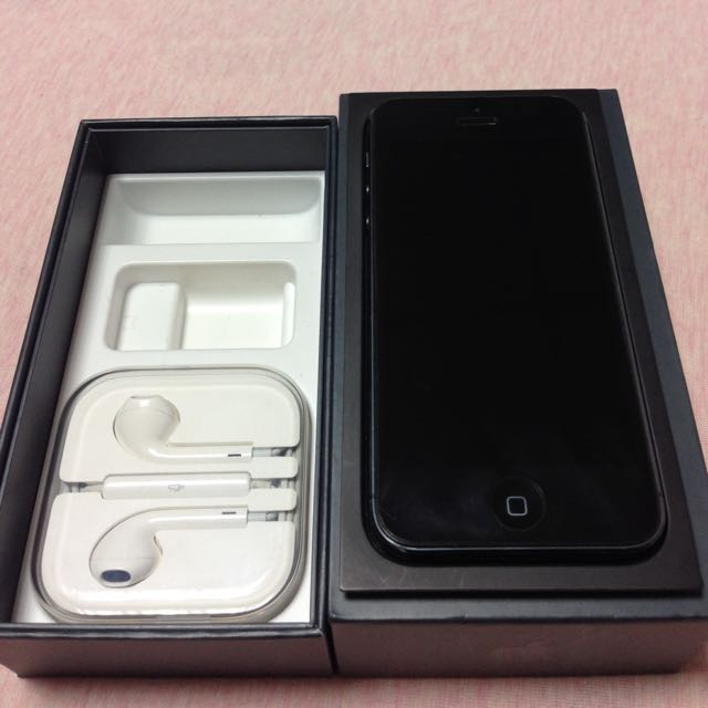 iphone 5 黑色 16G 狀況好!備用機
