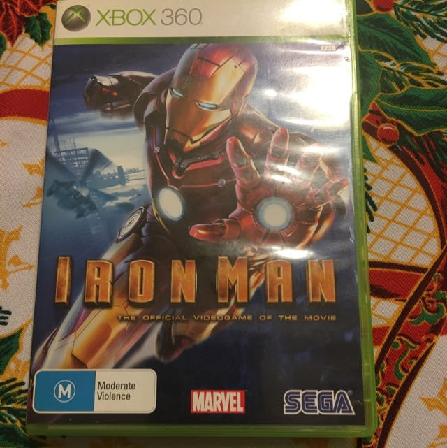 Ironman: The Official Video Game Of The Movie