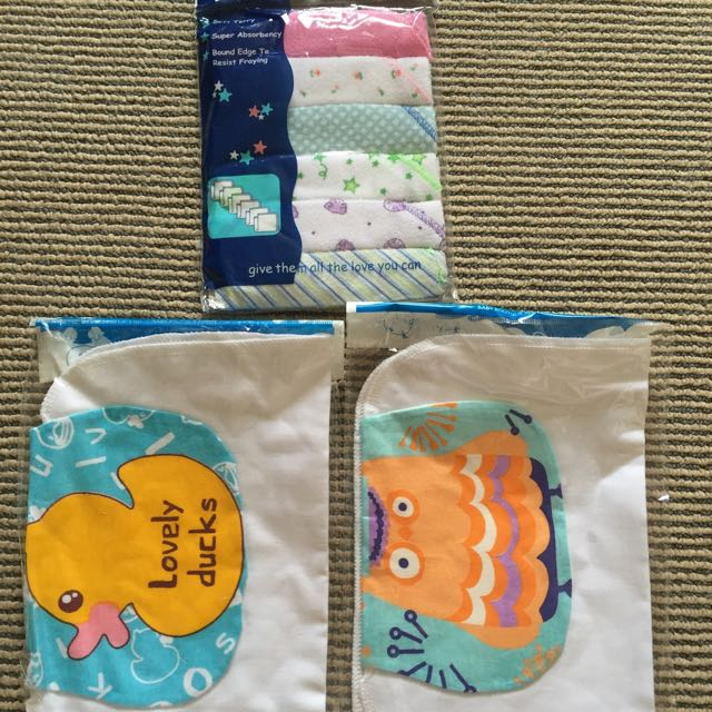 Kids/babies Handkerchiefs And Back Handkerchiefs X 2