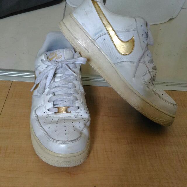 Nike Force白金勾勾 7成新