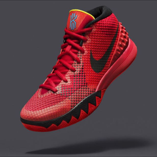 [誠收,Wanted Not Sale]Nike Kyrie 1 Deceptive red紅黑配色(優先)Or USA美國獨立配色