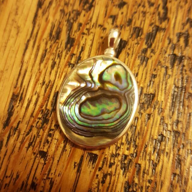 NZ Paua Shell Pendant