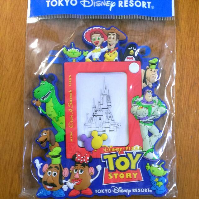 oh ♪迪士尼 玩具總動員 磁鐵 Disney toystory