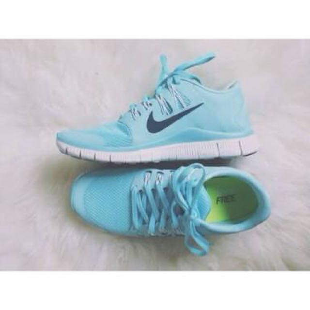 Looking For: Pale Blue Nike Free Run