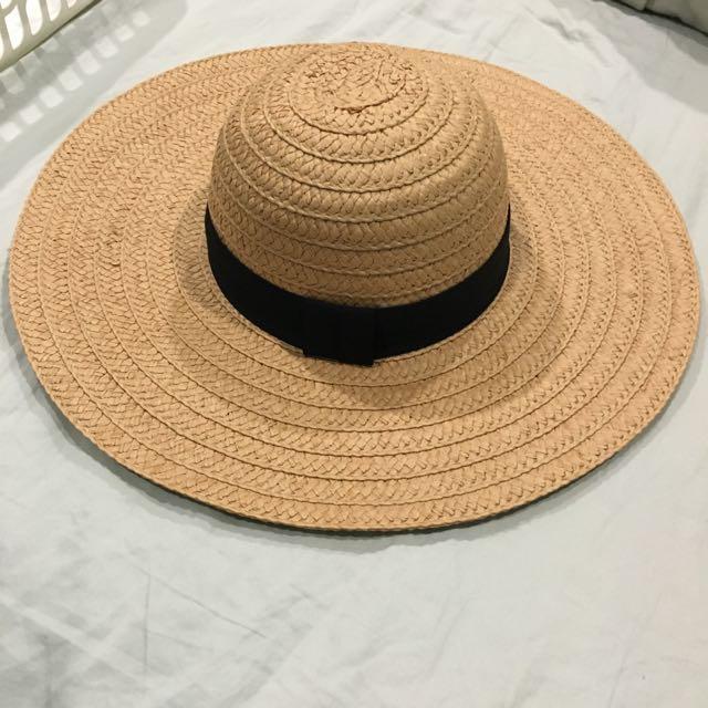 Rubi Straw Brim Hat