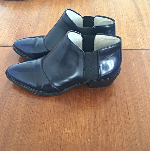 SENSO 37 Ink & Black Ankle Boot