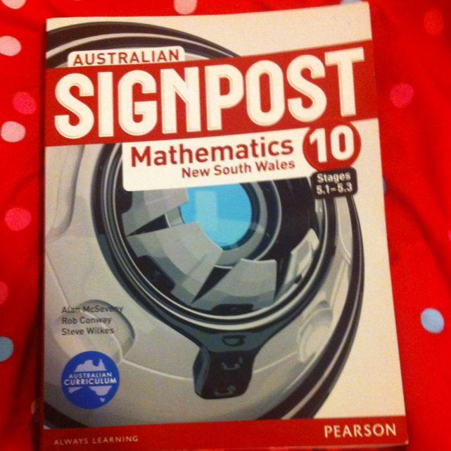 Signpost Mathematics Yr10
