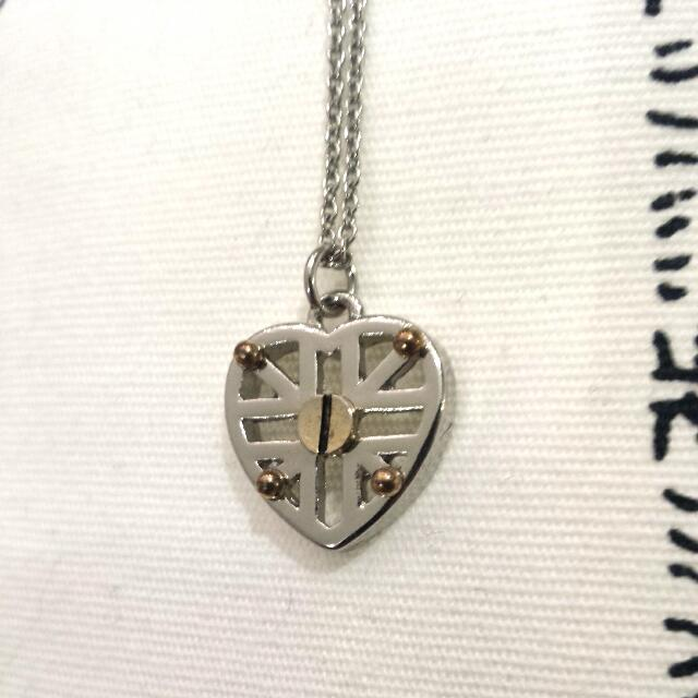 Silver Heart Chain
