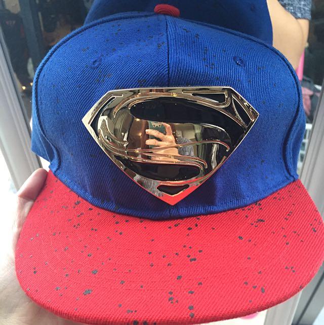 Superman Snapback Hat Unisex