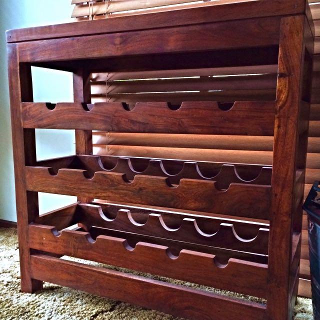 Timber Wine Rack