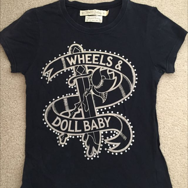 Wheels and Doll Baby Top Size 1