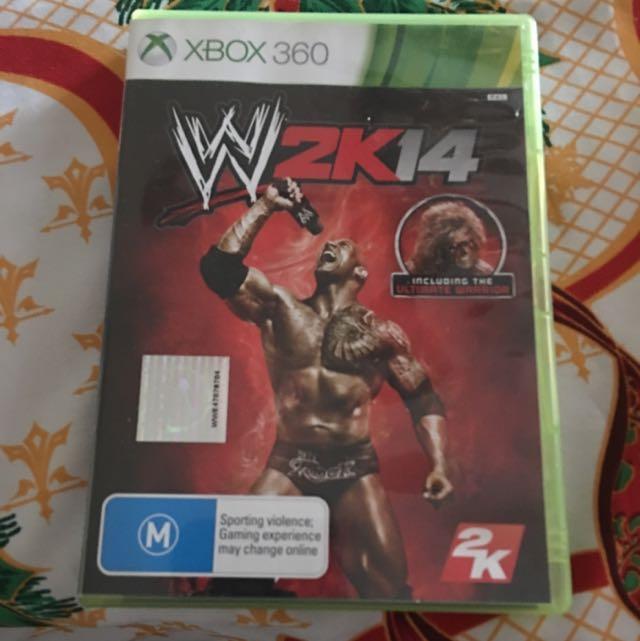 WWE2K14 XBOX 360