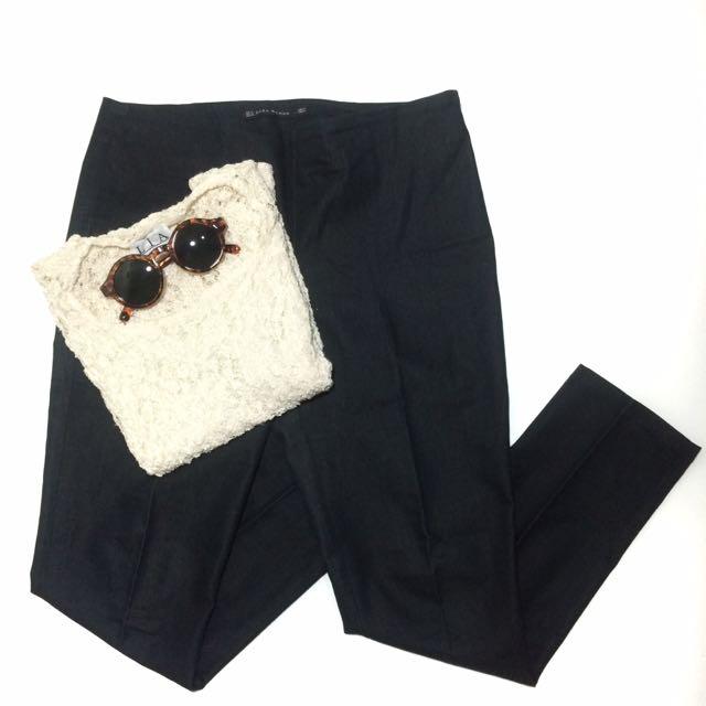 Zara Woman dark grey pants