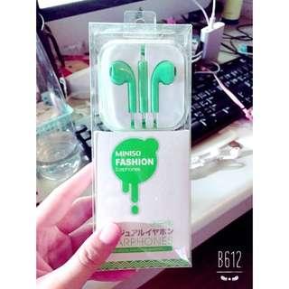 Iphone蘋果綠耳機