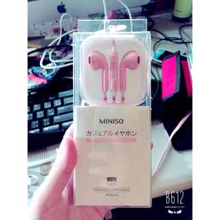 Iphone淡粉紅耳機