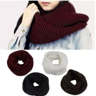 Knit Winter Scarf