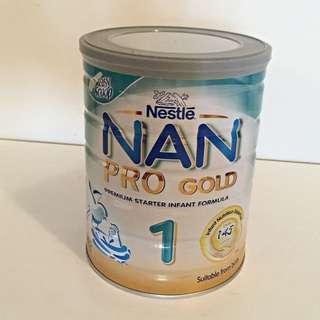 Brand New Infant Formula Nestle NAN Pro Gold Stage 1