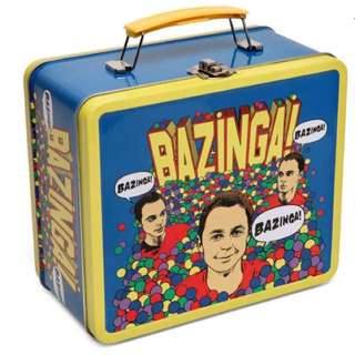 Bazinga Lunchbox The Big Bang Theory