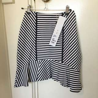 Size 8 Nautical Flip Skirt