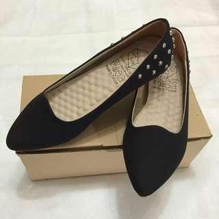 平底質感女鞋(厚鞋軟墊)