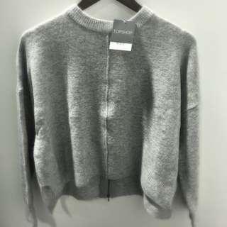 Top Shop Grey Sweater