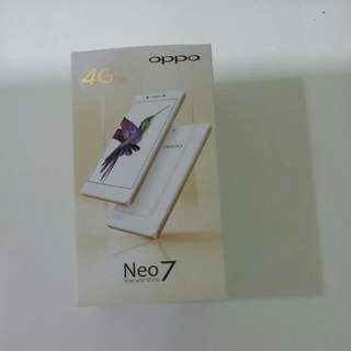 OPPO NEO 7 WHITE BRAND NEW IN BOX