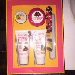 Cherry & Papaya Hand Care Essentials