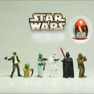 星際大戰 Star Wars 公仔 老物 老膠 迪士尼