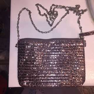 Cute Shiny Metallic Going Out Bag