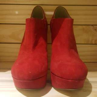 Red Boot Heels From Betts