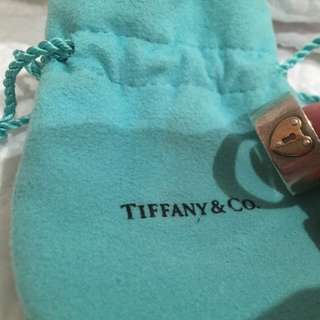 Tiffany & Co Silver and Gold ring
